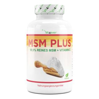 MSM Plus  - 1000mg -  400 Tabletten
