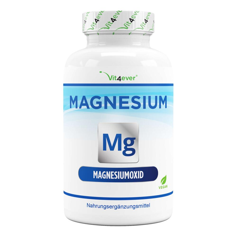 Magnesium Advanced - 365 Kapseln - 670 mg je Kapsel
