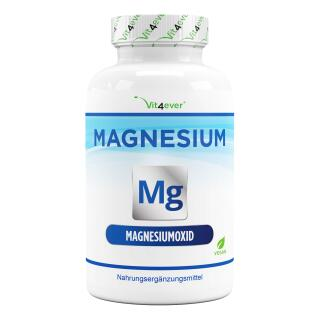 Magnesium Advanced - 365 Kapseln - 665 mg je Kapsel