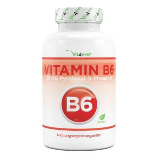 Vitamin B6 á 240 Tabletten mit 20 mg - Pyridoxin HCL